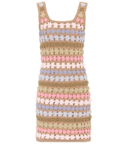 Maala crochet shift dress