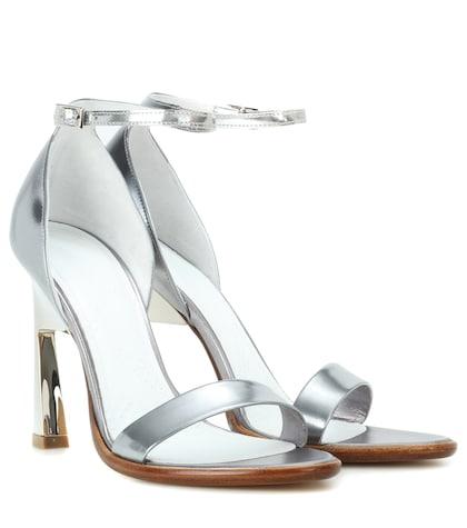 maison margiela female leather sandals