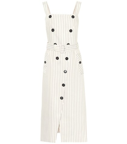 Audrey striped dress