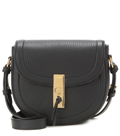 altuzarra female ghianda saddle mini leather crossbody bag