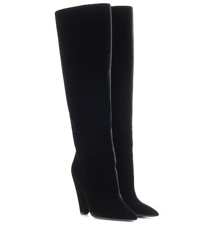 Niki 105 velvet boots
