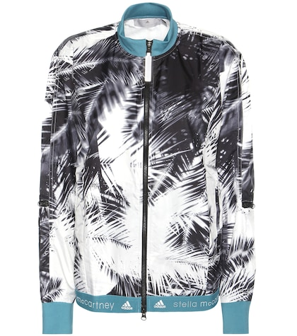 adidas by stella mccartney female  run palm print jacket