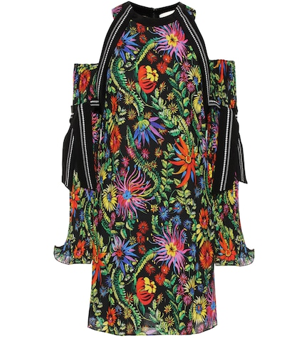 31 phillip lim female printed offtheshoulder dress
