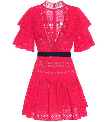 Cotton mini-dress