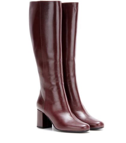 Babies 70 Leather Knee-high Boots