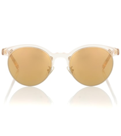 oliver peoples female ezelle browline sunglasses