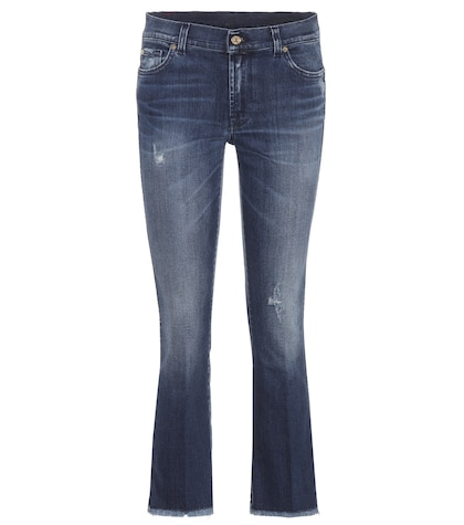 Cropped Boot flared jeans