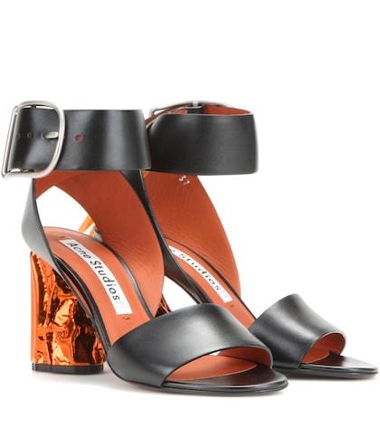 Obin Leather Sandals