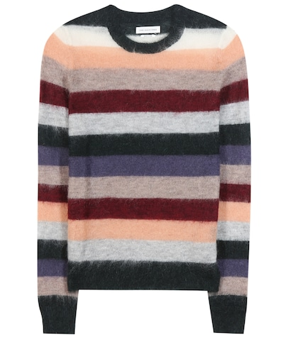 Cassie Striped Mohair-blend Sweater