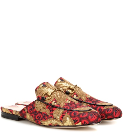 Princetown jacquard slippers