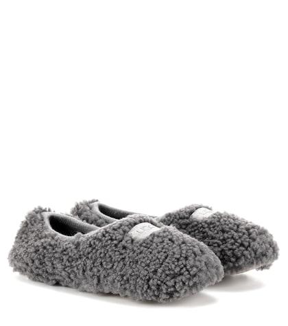Birche fur slippers