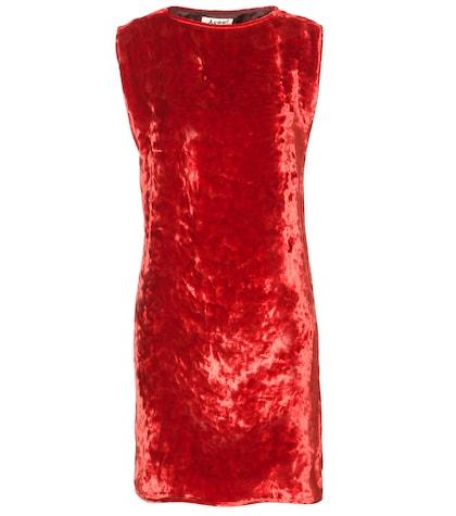 Rozenne velvet dress
