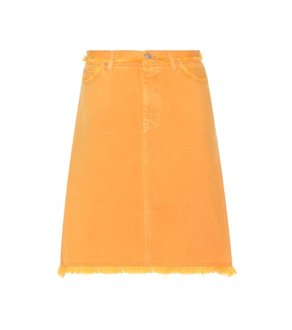 acne studios female gisella aline denim skirt