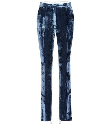 Truck velvet trousers