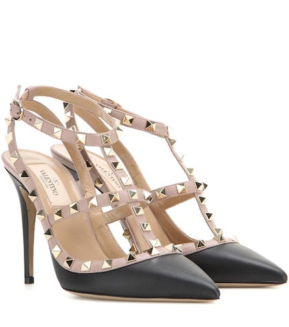 Valentino Valentino Garavani Rockstud Leather Pumps