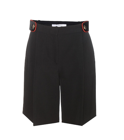 givenchy female wool shorts