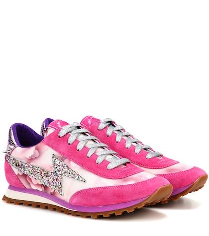 marc jacobs female astor lightning bolt sneakers