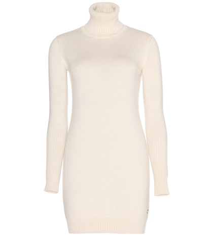 Glace cashmere sweater dress