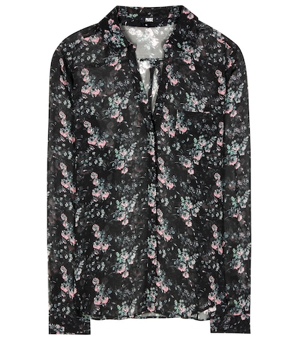Everleigh silk shirt