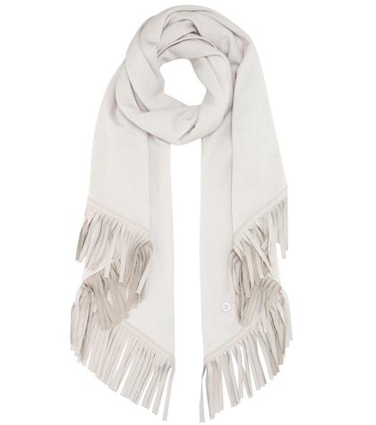 loro piana female semicircle summer cashmere and silk scarf