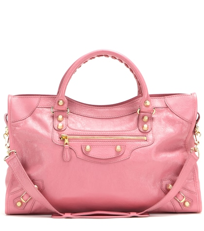 balenciaga female giant 12 city leather tote