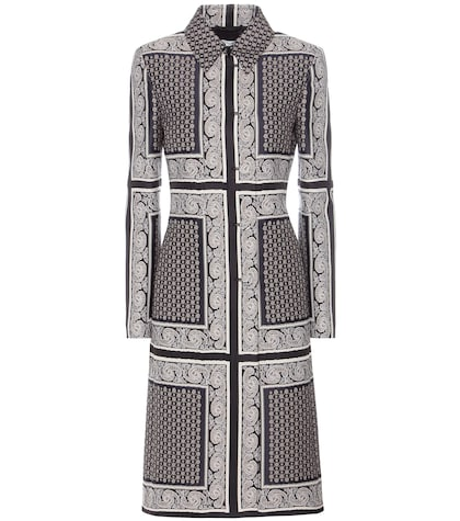 altuzarra female cathay jacquard coat