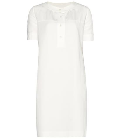 apc female 45883 cassandre linen and cottonblend dress