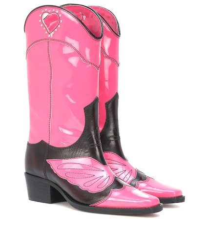 Marlyn leather cowboy boots