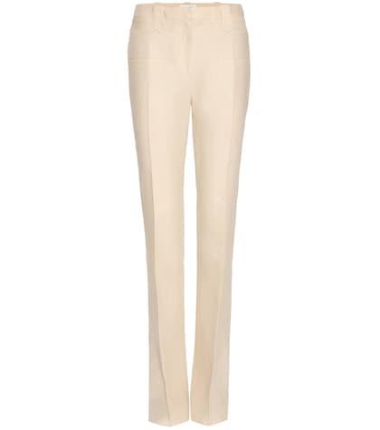 altuzarra female 186518 serge linen trousers