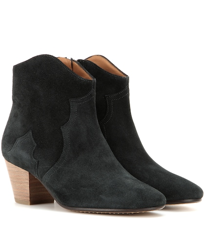 Étoile Dicker suede ankle boots