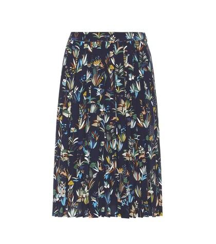 Rebecca Printed Silk Skirt
