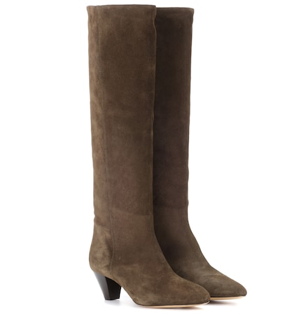 Robby suede knee-high boots