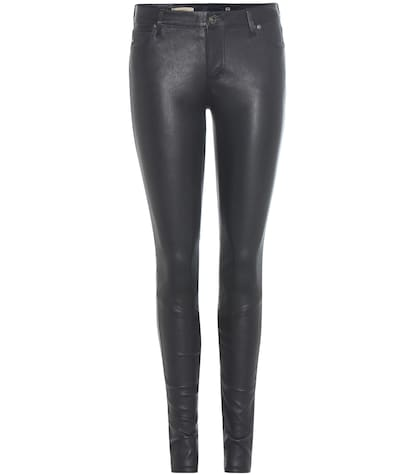ag jeans female 201920 leather trousers