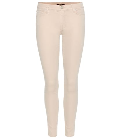 7 for all mankind female rich satin ankle skinny jean