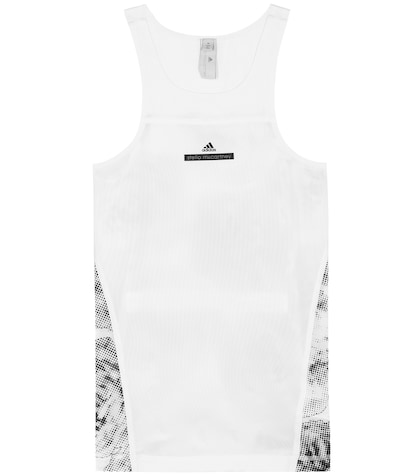Run Adizero printed racerback tank top