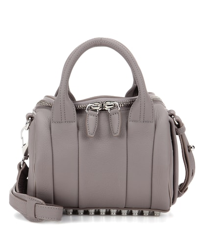 alexander wang female mini rockie leather tote