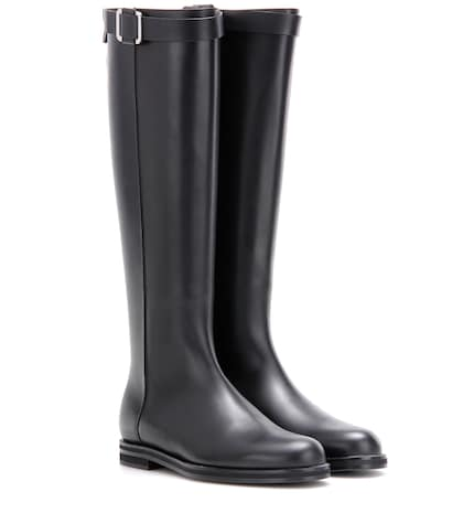 Wilshire Leather Knee-high Boots