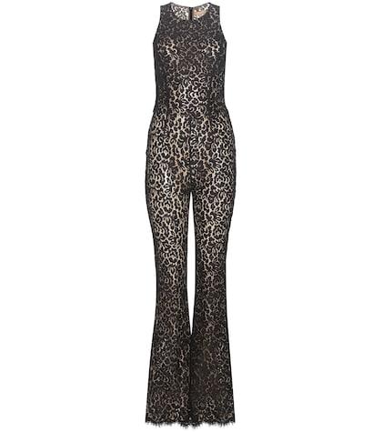 michael kors female 188971 lace jumpsuit