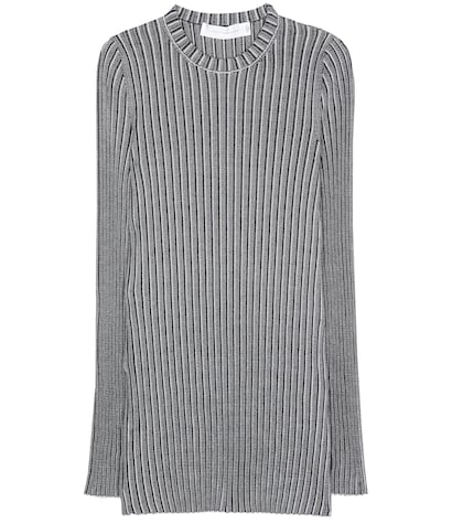 Rib-knitted Top