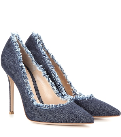 Denim Pumps