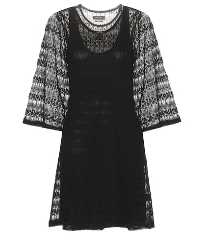 Agate Crocheted Linen Dress