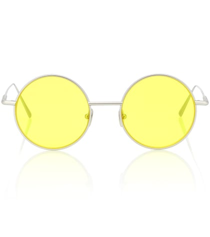 Scientist round sunglasses
