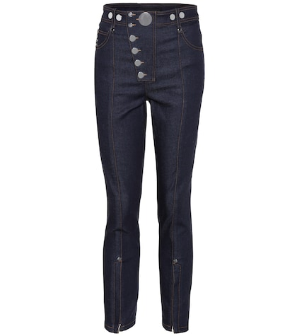 alexander wang female highrise skinny jeans