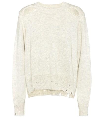 Kelia cotton and wool sweater