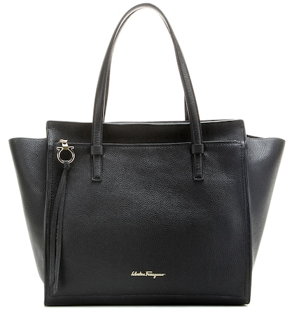 Amy Leather Tote