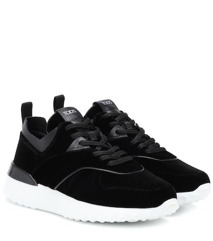 Exclusive to Mytheresa – velvet sneakers