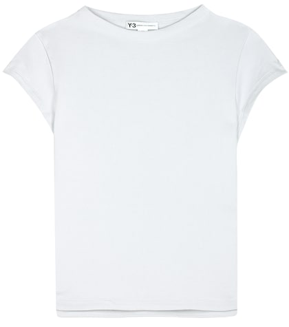 y3 female force cotton tshirt
