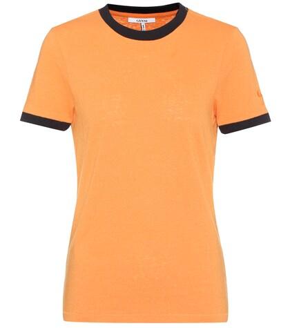 Carvey cotton-blend T-shirt