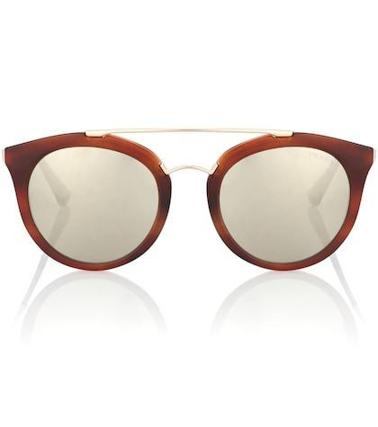 prada female cateye sunglasses