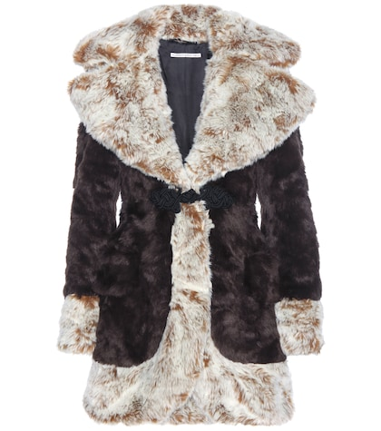 alessandra rich female 211468 faux fur coat
